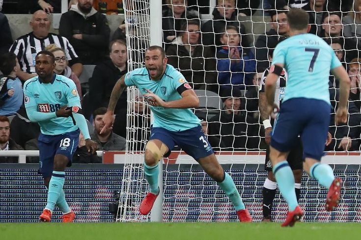 Week 11 - Newcastle United 0-1 AFC Bournemouth - Steve Cook (Photo credit : Premier League)
