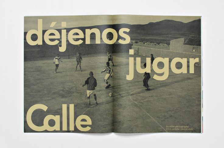 spread from newspaper–catalogue for Calle / by HORT