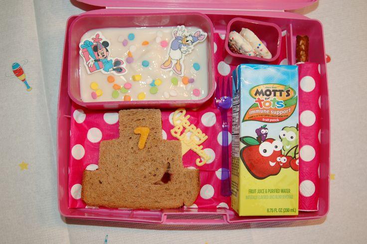 Birthday Girl Bento Laptop Lunch