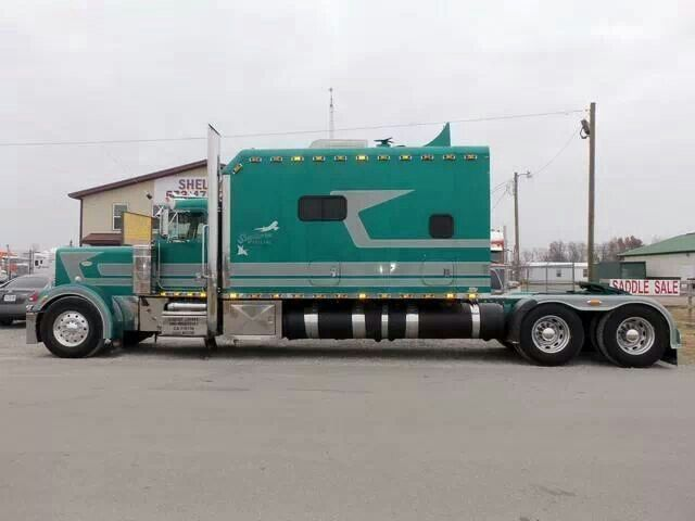 Semi Truck With Bathroom For Sale Image Gallery Peterbilt 579 Sleeper Cabover Semi Trucks For