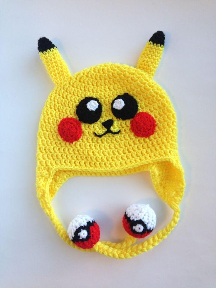 Pikachu Hat Crochet Pattern Gallery - knitting patterns free download
