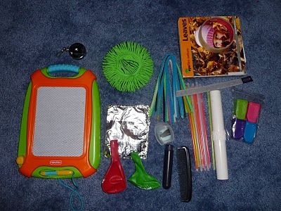 Toddler Airplane Survival Kit -   I am SO going to build this for my flight with our 16 month old!