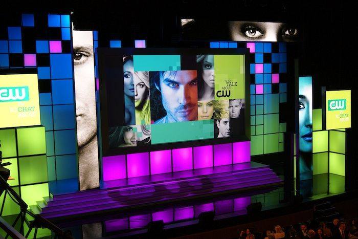 """BizBash """"Best Staging and Set Design"""" finalist - CW Upfront 2011. , VPP – Live Event Producing and Technical Direction"""