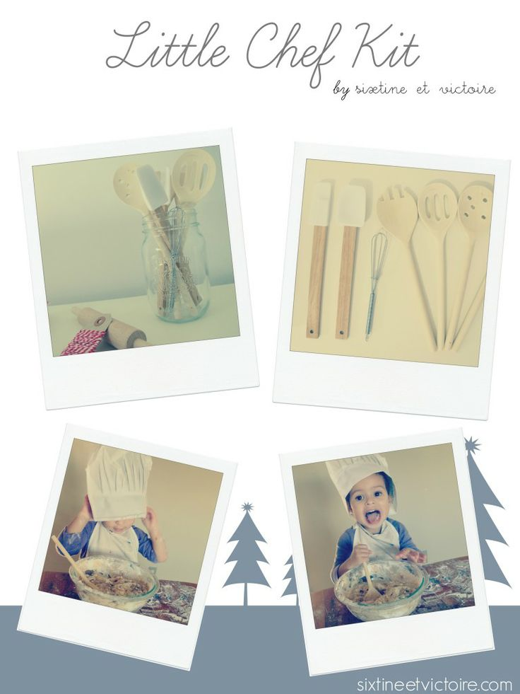 #Win a Little Chef Kit at www.racheous.com from Sixtine et Victoire's Etsy boutique #Montessori #giveaway