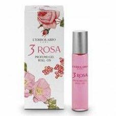 3 Rózsa illatú Roll-on Eau de Parfum - Rendeld meg online! Parfüm és kozmetikum család a Lerbolario naturkozmetikumoktól