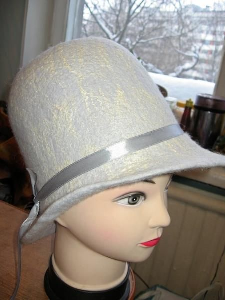 Шляпа котелок коко шанель