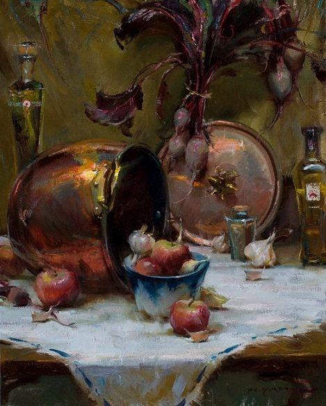 Painting By Daniel Gerhartz