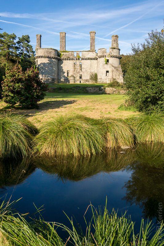 balade photo en Finistère, Bretagne et...: #JEP2015 visite du château de Kergournadeac'h à Cléder (9 photos)
