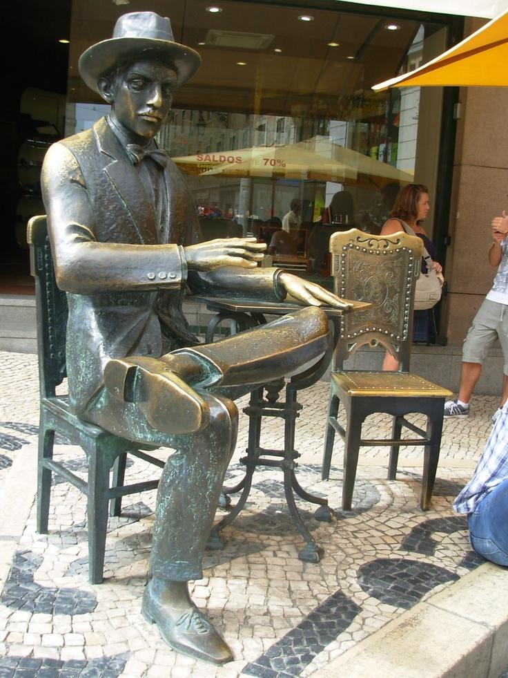 Pessoa, Chiado,Lisbon-Portugal