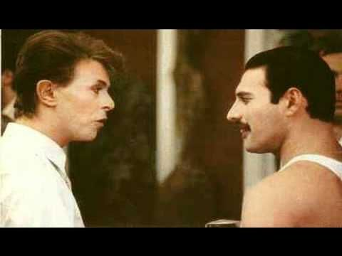 """RIP David Bowie — Here's His Isolated Vocal Track From """"Under Pressure"""" With Freddie Mercury / Queerty"""