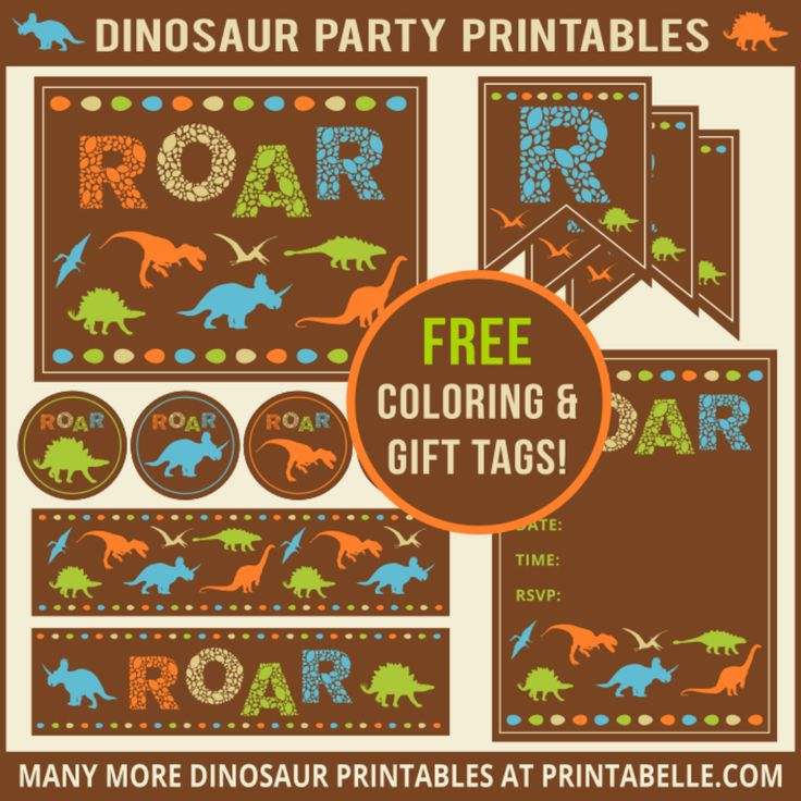 Best 25 Dinosaur party invitations ideas – Free Printable Dinosaur Birthday Party Invitations