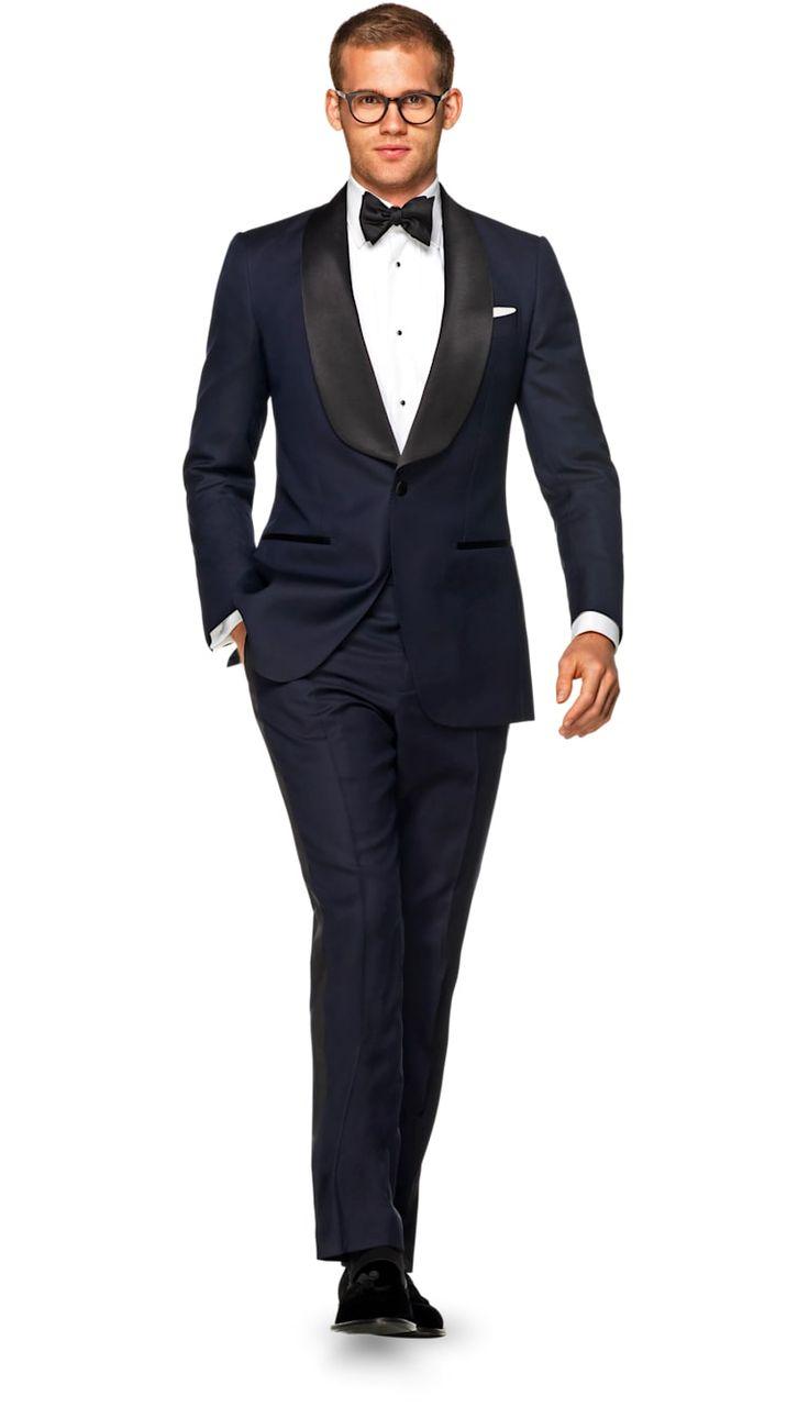 Suit Blue Plain Washington P5353 | Suitsupply Online Store