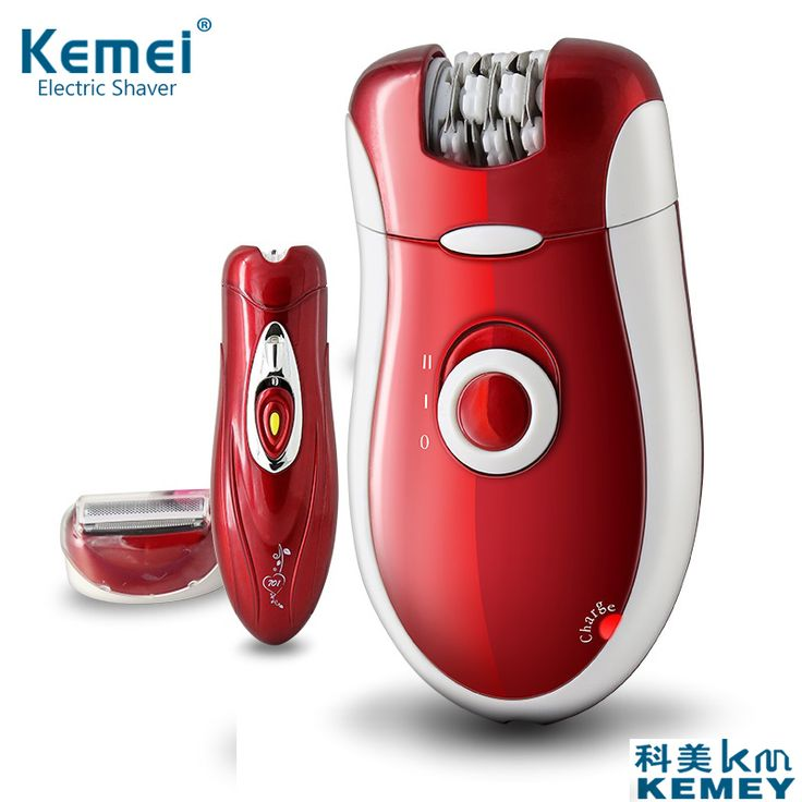 2017 kemei KM-3068 New 3 in 1 Women Shave Wool Device Knife Electric Shaver Wool Epilator Shaving Lady's Shaver Female body Care