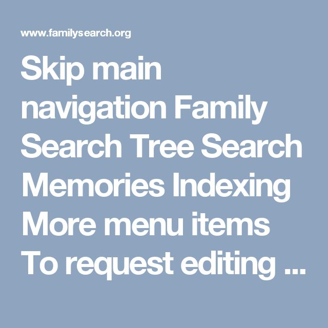 Skip main navigation Family Search Tree Search Memories Indexing More menu items To request editing rights on the Wiki, click here. Help Category:Language link templates Subcategories This category has the following 20 subcategories, out of 20 total. A Argentina Family History Centers B Bolivia Family History Centers Brazil Family History Centers C Chile Family History Centers Colombia Family History Centers Costa Rica Family History Centers E Ecuador Family History Centers El Salv...