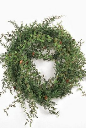 Nordic+Larch+&+Cones+Wreath, $79.00