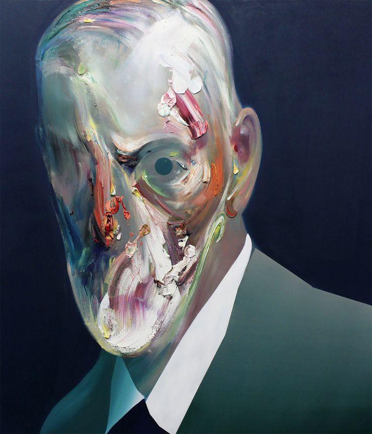 Abstract Portraits by Ryan Hewett | Inspiration Grid | Design Inspiration