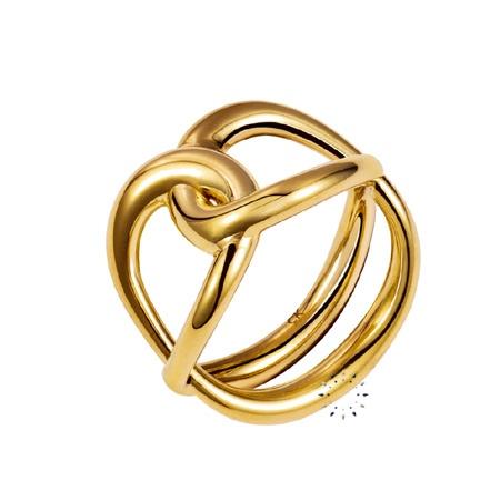 Δαχτυλίδι Enlace από επιχρυσωμένο ανοξείδωτο ατσάλι της Calvin Klein  69€  http://www.kosmima.gr/product_info.php?manufacturers_id=13_id=17932