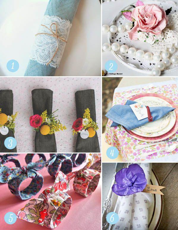 wedding napkin ring diy tutorial