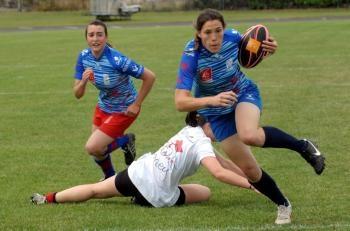 les filles du TCMS dans la depeche / Fête Des Rugbys Toulouse 2012