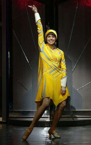 Sutton Foster Thoroughly Modern Millie, 2002. #theatre