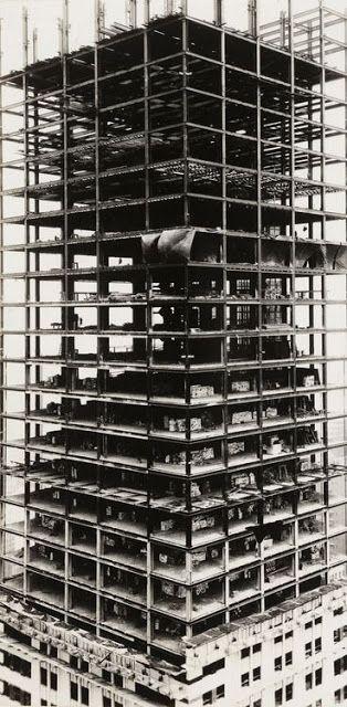 Chrysler Building under construction, New York, 1929