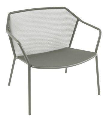 Fauteuil Bas Darwin / Métal Gris   Emu   Décoration Et Mobilier Design Avec  Madeu2026
