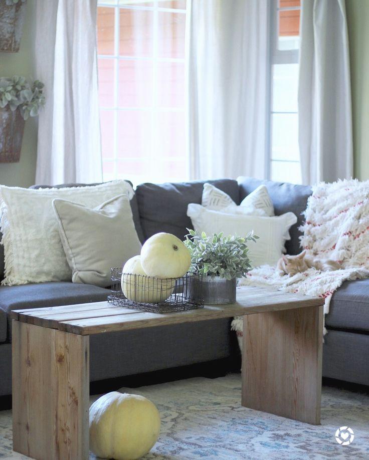 Fall farmhouse living room. @liketoknow.it http://liketk.it/2tdv0 #liketkit