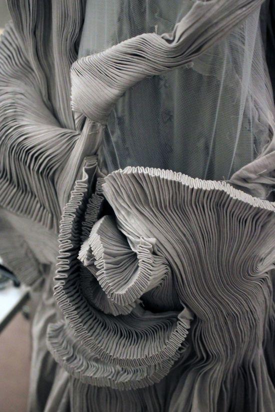 folds like mushrooms
