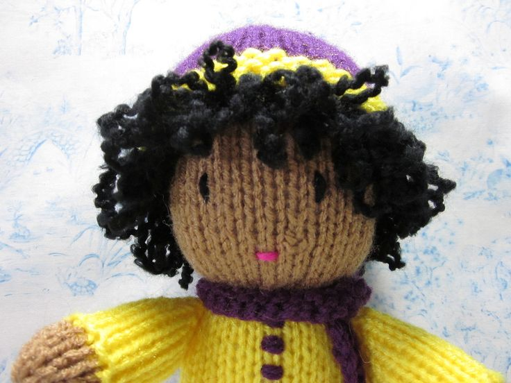 139 best images about knitted dolls on Pinterest Free pattern, Rainbow baby...