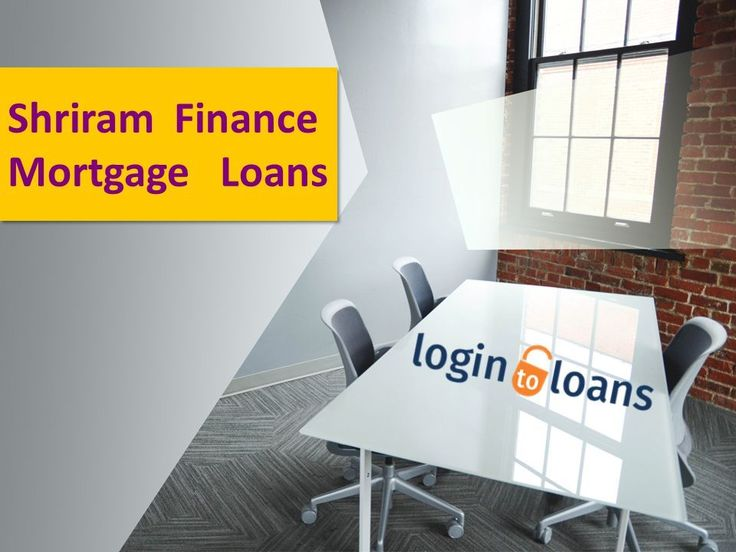 Apply online for Shriram Finance Mortgage Loans in India. Compare Mortgage Loan interest rates from top banks and apply online for quick approval of Mortgage Loans through Logintoloans.com. Quick & easy processing with minimum documentation.