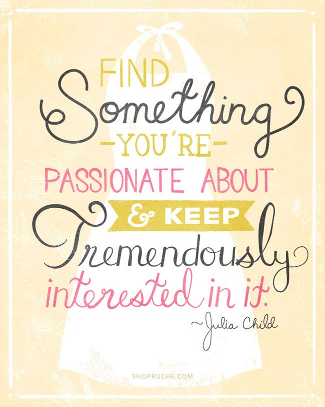 Feed Your Passions