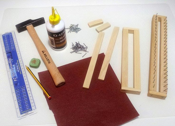 Para aquellos que se lancen o quieran realizar su propio telar maya, también es conocido como telar azteca, bastidor o tablita para tejer. ...