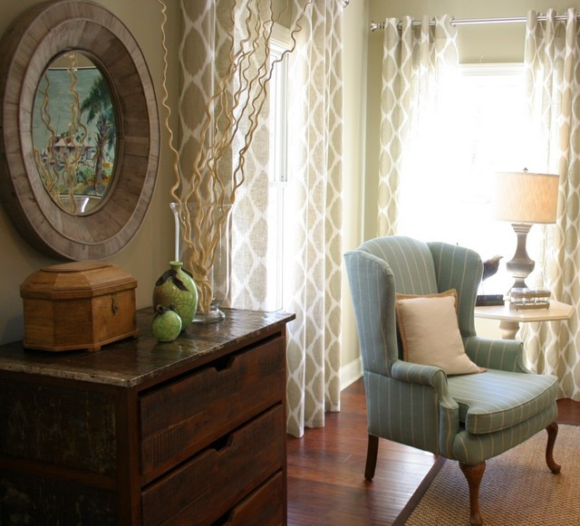 SusanLambInteriors. Sitting Room Getting the high-end look without the high-end price tag.