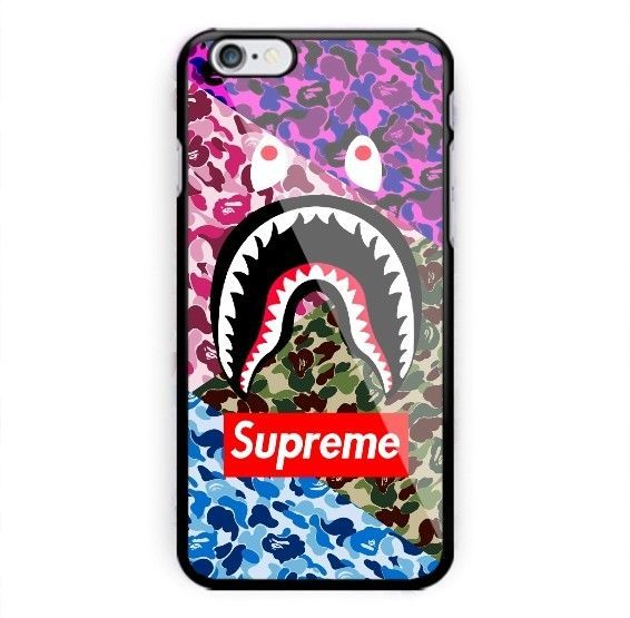 New Exclusive Bape Supreme For Iphone X 8 8 7 7 6 6 6s 6s 5 5s Samsung Case Iphone Case Design Iphone 6splus Cases Iphone Cases