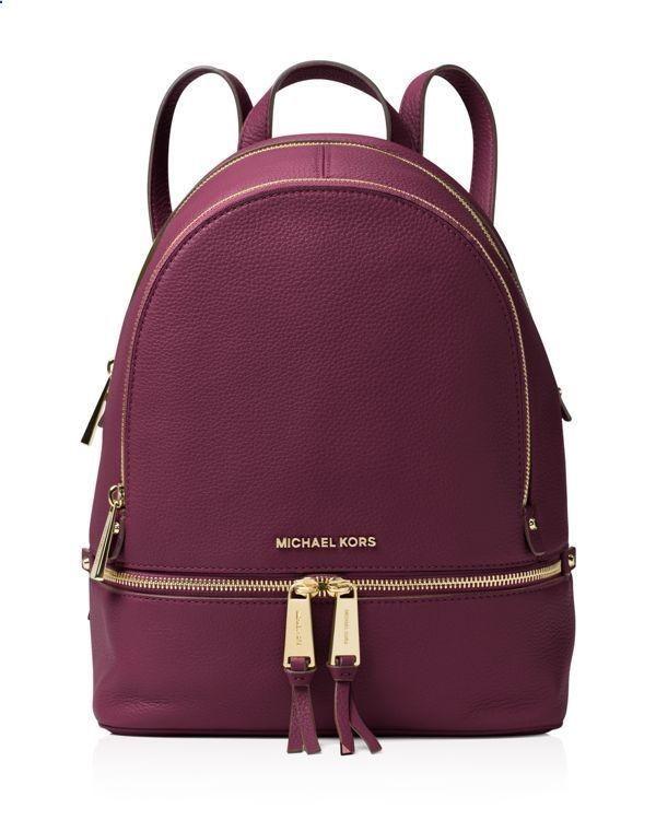 0d94bacbd07a4f Michael Michael Kors Medium Rhea Zip Backpack #bolsa #michaelkors  #bolsamichaelkors #michaelkorscolombia #bolsacolombia #colombia DRE… |  Womens Fashion in ...