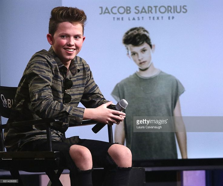 Jacob Sartorius attends Build Presents to discuss 'The Last Text World Tour' at AOL HQ on January 10, 2017 in New York City.