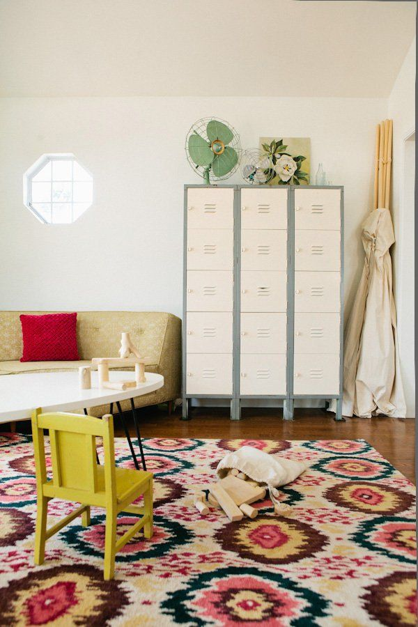 Pin for Later: Clutter Turned Cute! 11 Inspirational Toy Storage Ideas School Locker Storage