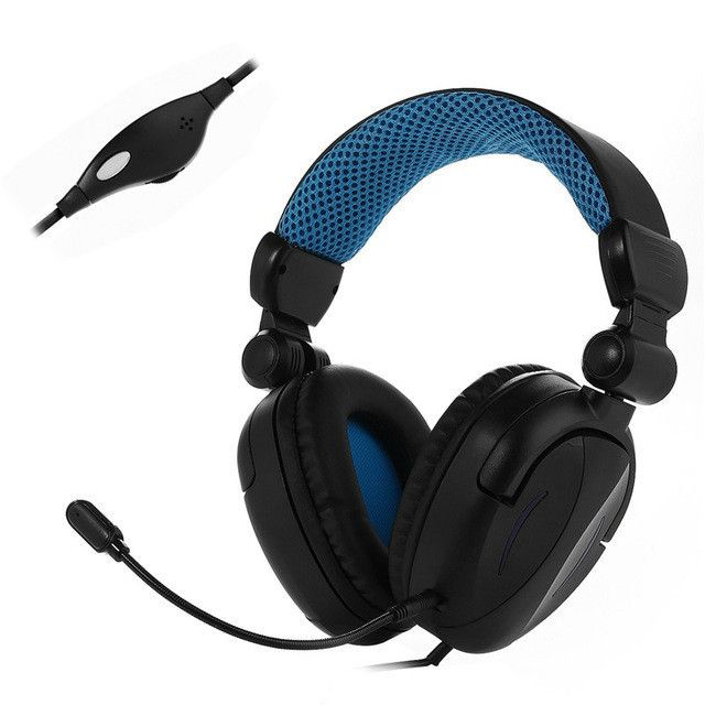 PS4/Xbox ONE/Laptop Mobile Phones Headband Headset 3.5mm Gaming Headphone with Microphone