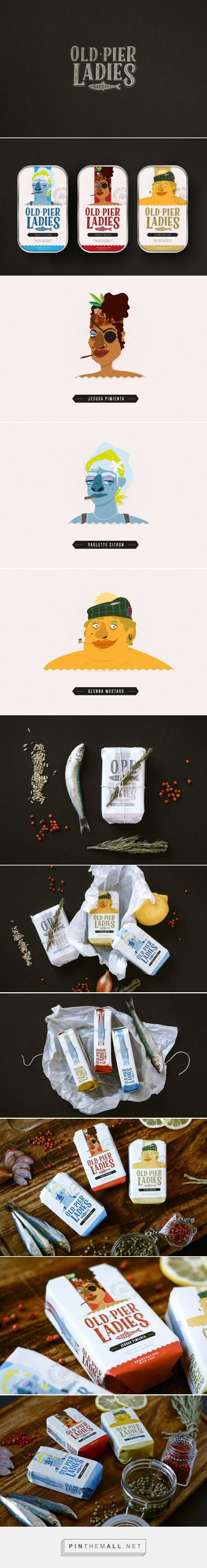 Old Pier Ladies (Concept) - Packaging of the World - Creative Package Design…