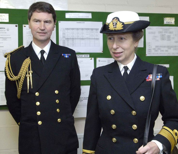 The British Monarchy-The Princess Royal and Vice Admiral Timothy Laurence (her second husband)