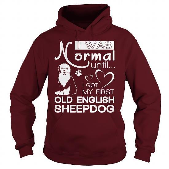 MY FIRST OLD ENGLISH SHEEPDOG  HOODIE TEE (==►Click To Shopping Here) #my #first #old #english #sheepdog # #hoodie #Dog #Dogshirts #Dogtshirts #shirts #tshirt #hoodie #sweatshirt #fashion #style