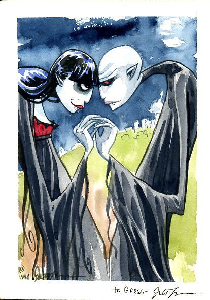 """count maxwell and ruby; """"scary godmother"""" - jill thompson"""