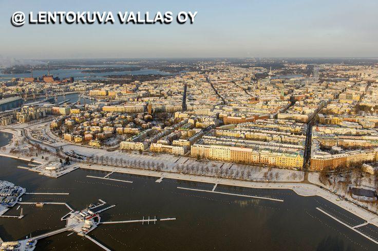 Helsinki talvella