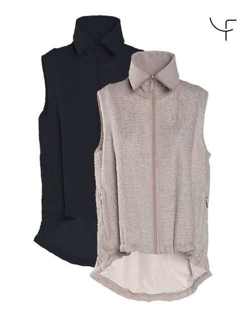 Online Collection - Dany Fay Golf Couture  High-quality stretch nylon, super-light padded cotton inlay, soft and warm, water resistant, perfect fit; inner belt permits optimal size adjustment. https://www.danyfay.com/en/details/girlie.html  #jacket #veste #golf #fashion #danyfay #golfcouture #girlie #chic #golfer #women #golfmode #golfclothes
