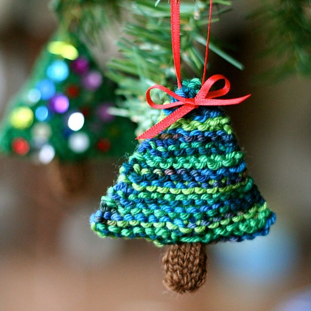 Christmas Trees, Ravelry And Christmas Tree Ornaments On