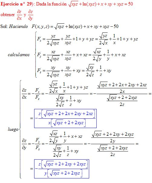 Derivadas - ejercicios de derivadas resueltos en Derivadas.es - Part 12