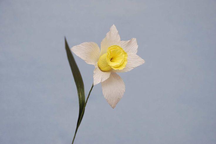 Нарцисс для букета из конфет. Narcissus of sweets