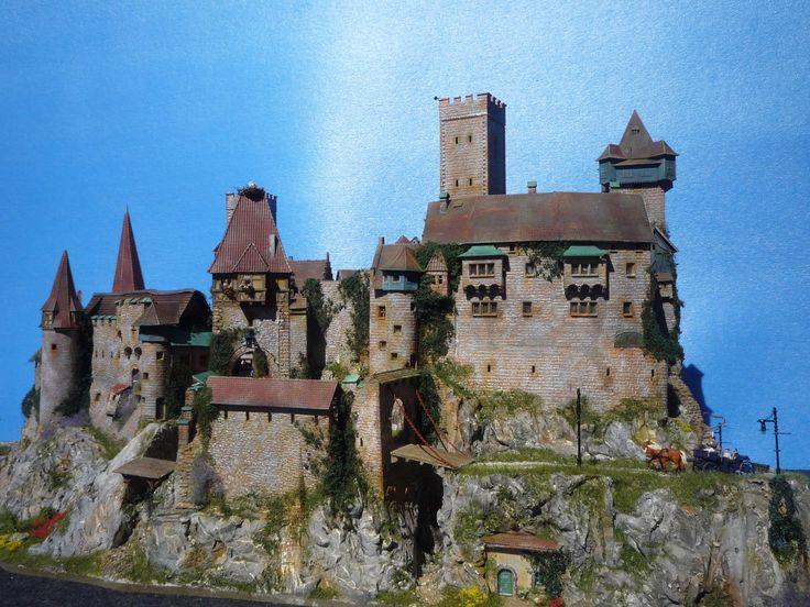 DIORAMA Castle/ Burg/Schloss