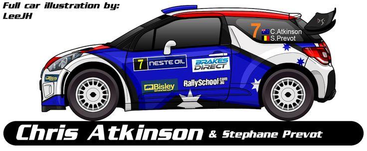 WRC | CITROEN | #7 | Chris Atkinson - Stéphane Prévot ( 8 )