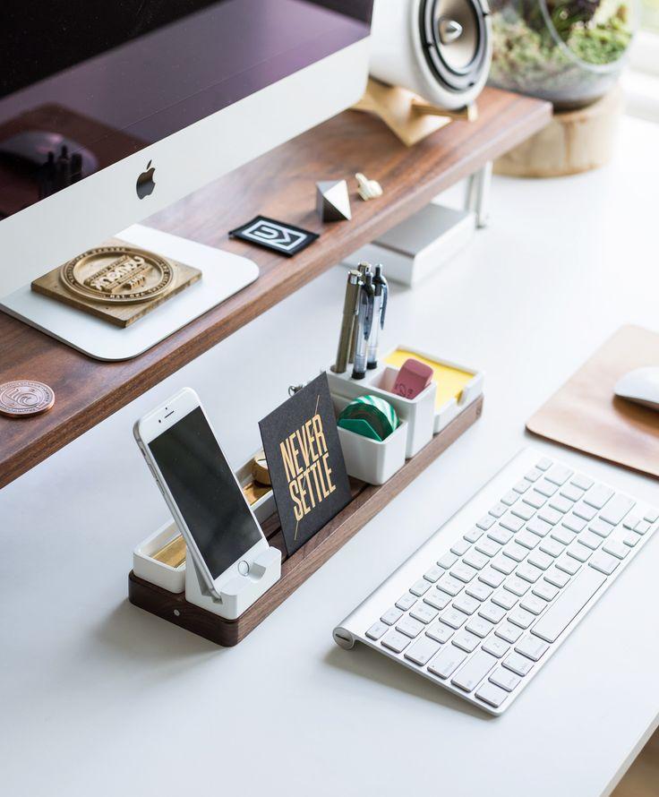 best 25 work desk ideas on pinterest work desk decor work desk organization and decorating. Black Bedroom Furniture Sets. Home Design Ideas